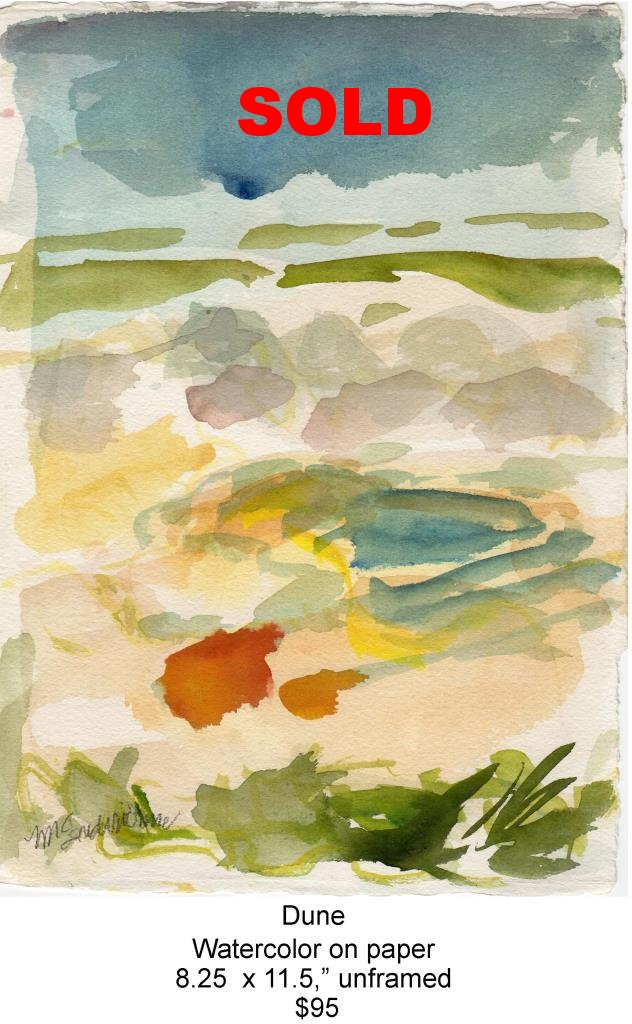 Fred Wise, Dune. Watercolor, 8.25 x 11.5, 2009, web.jpg