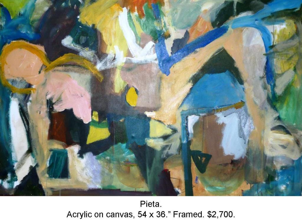 Fred Wise, Pieta, acrylic on canvas, 54 x 36, 2013, 2016 04 19.jpg