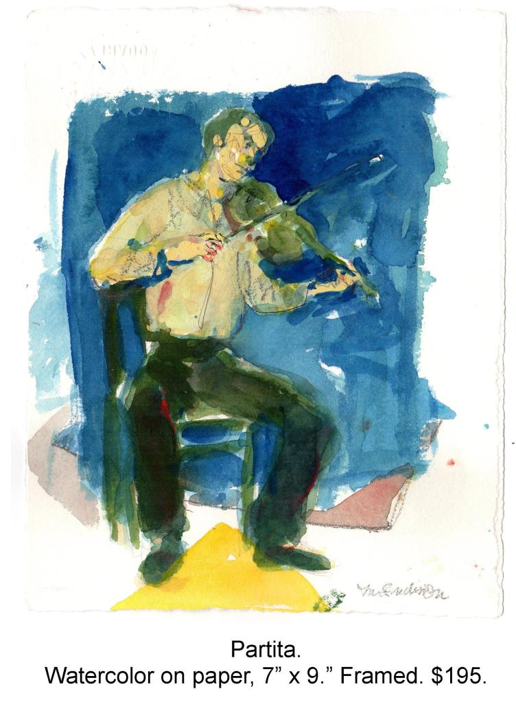 Fred Wise, Partita. Watercolor, pencil on paper, 7 x 9, 2003.jpg