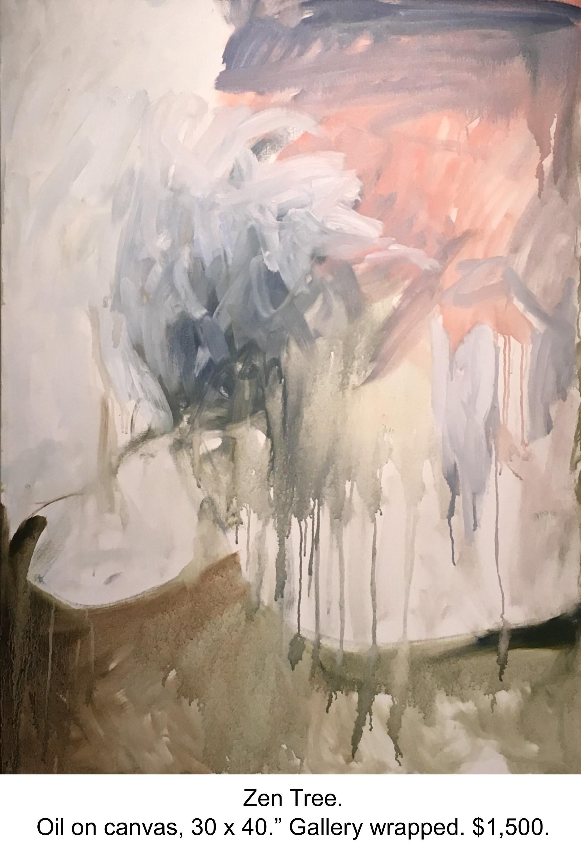 Fred Wise, Zen Tree. Oil on canvas, 30 x 40, 2016..JPG