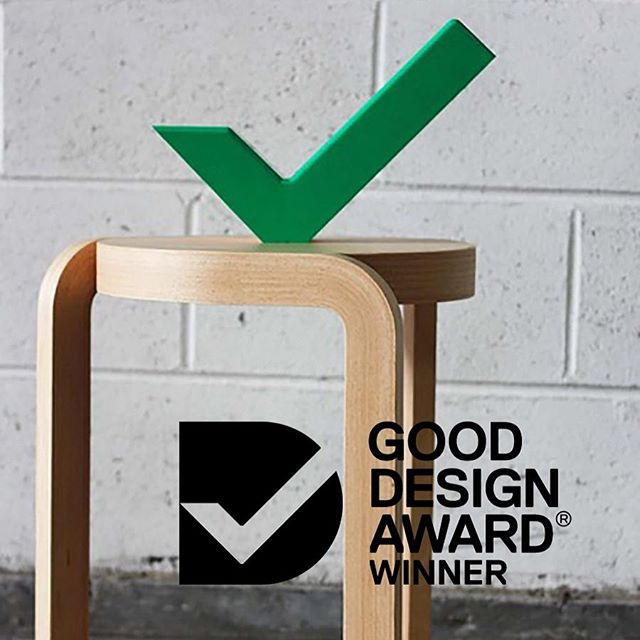 Great news from Australia. I am so glad to learn that Spin stool was awarded as the winner in the product design category at the 2019 Australian Good Design Awards. Spin stool is still going strong after ten years as a classic Swedese piece and I couldn't be happier.