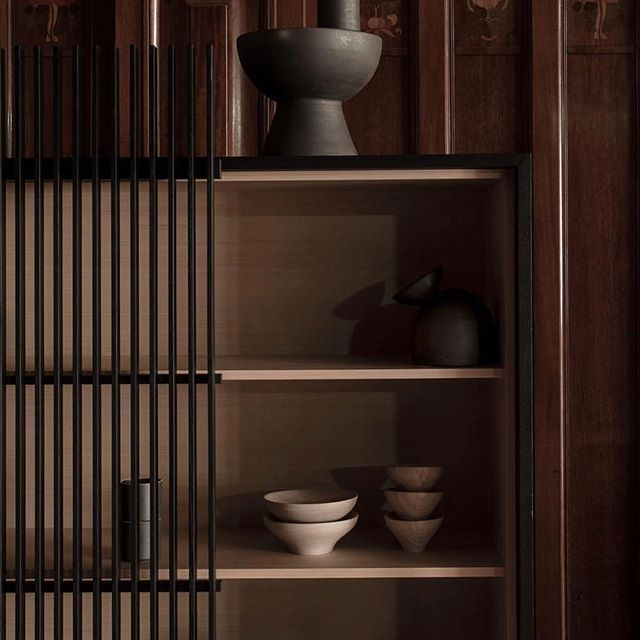 A while ago I designed the Kumiko cabinet for the Japanese furniture company Ariake Collection. Here is one of Andy Liffners wonderful photos from the amazing Phoenix palace exhibition earlier this year. Objects from Origin. Styling by Anna Lena Leino. Coordination Hanna Nova Beatrice.