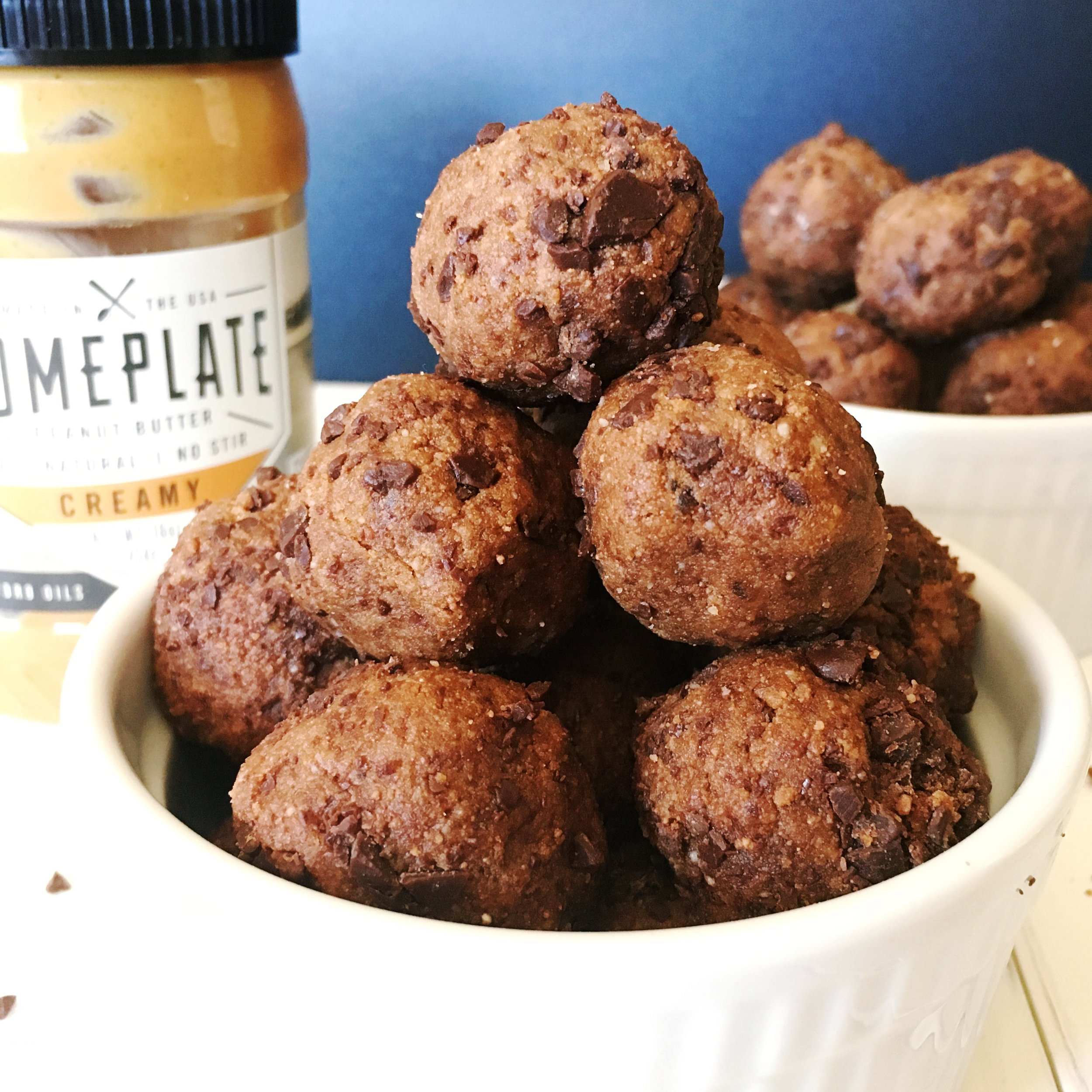 Choco Peanut Butter Protein Bites Image
