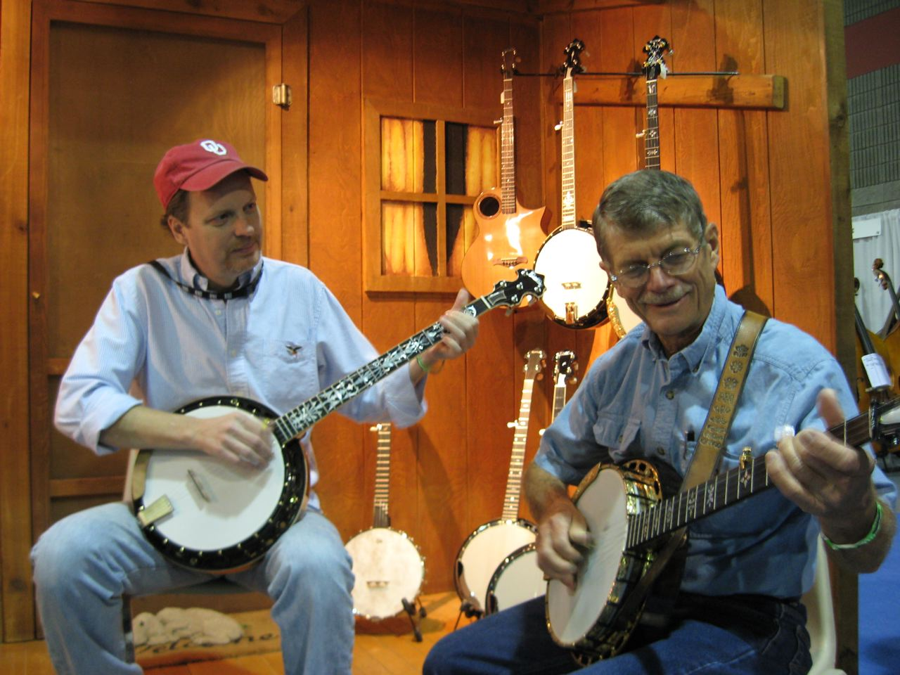 ROB BISHLINE  BANJO, GUITAR   Rob has been teaching since he was 17 years old. (that was a long time ago!) Rob is not only the builder of Bishline Banjos, he still finds time to teach advanced banjo and acoustic guitar.