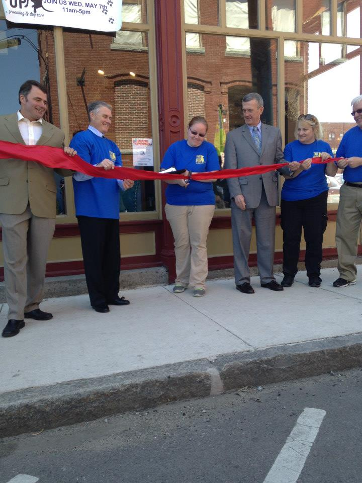 Ribbon cutting on Opening day!
