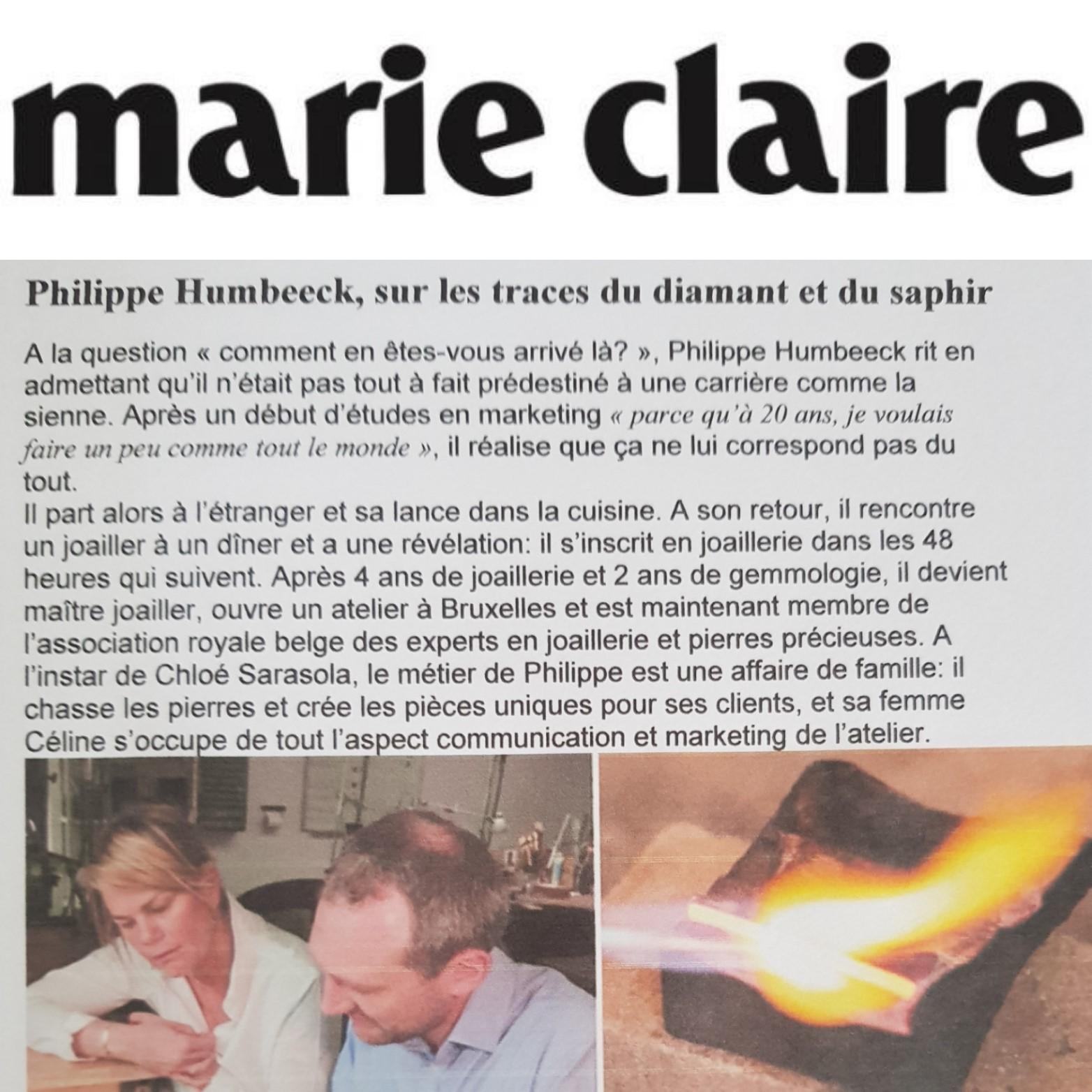 Marie Claire Mai 2017