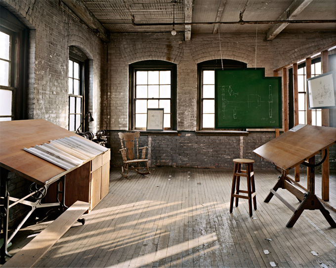 Henry Ford's Design Studio for the Model T  - This is such a gorgeous space!