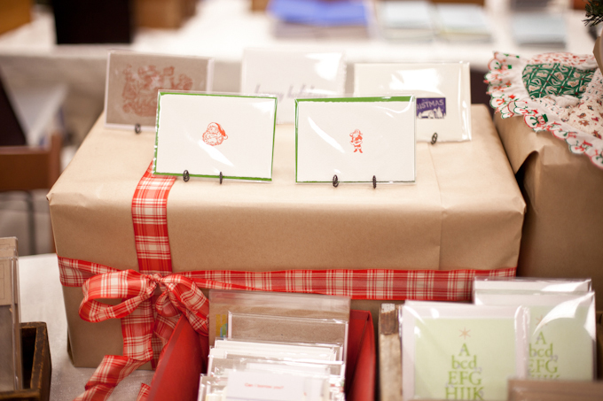 We debuted an assortment of new holiday cards