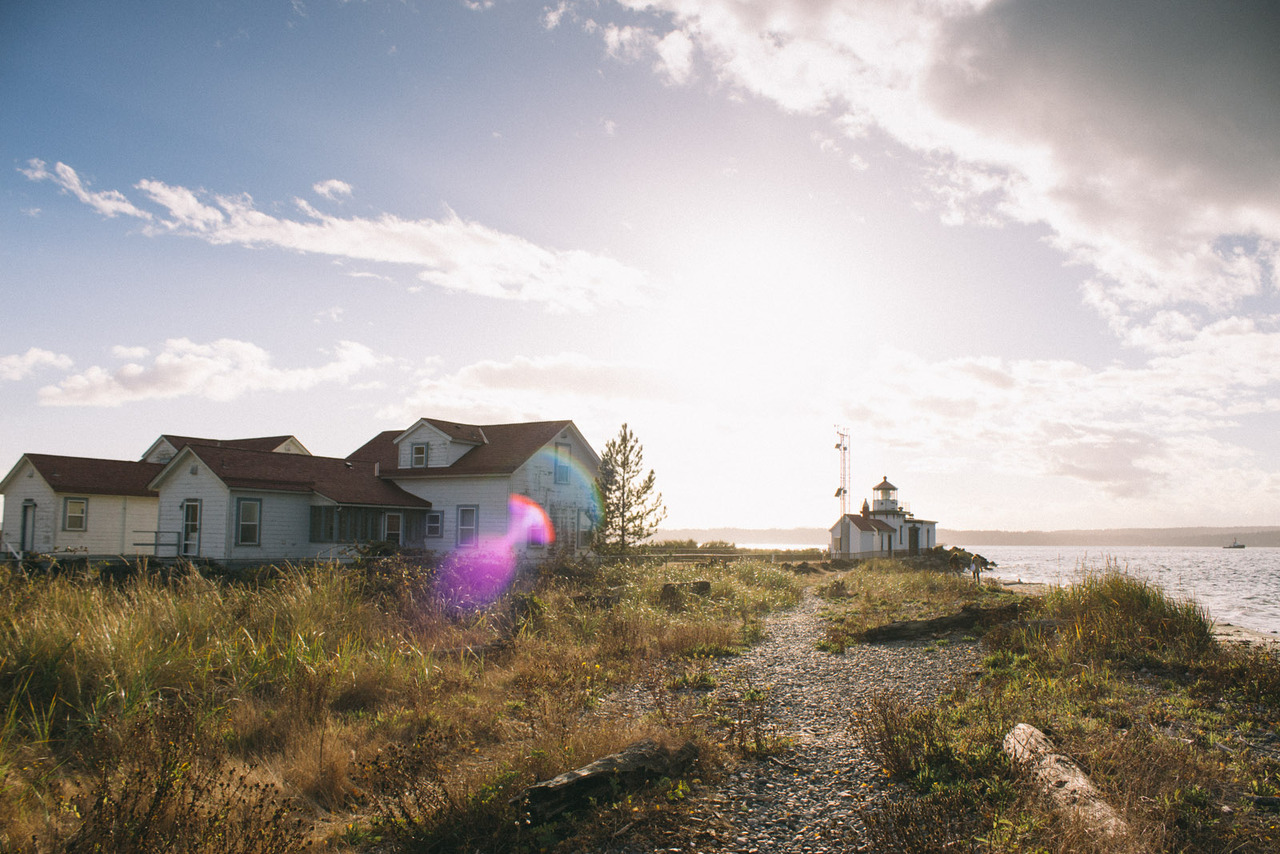 West Point Lighthouse in Discovery Park