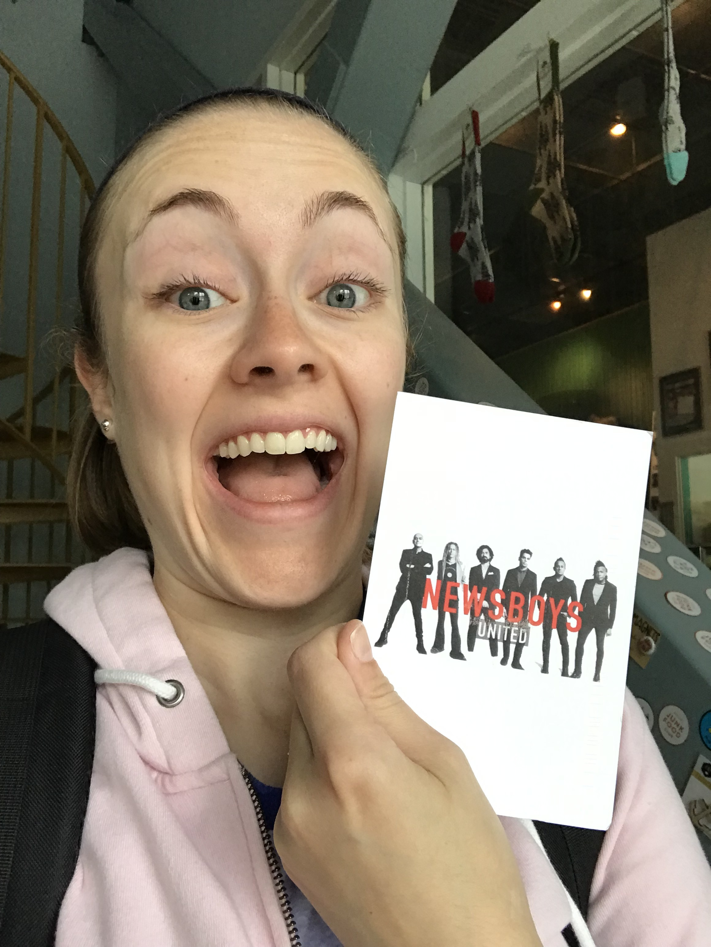 Making friends through snail mail and music! Yes, I was stoked. Yes I have amazing friends through working at C&Co. Community comes easy here.