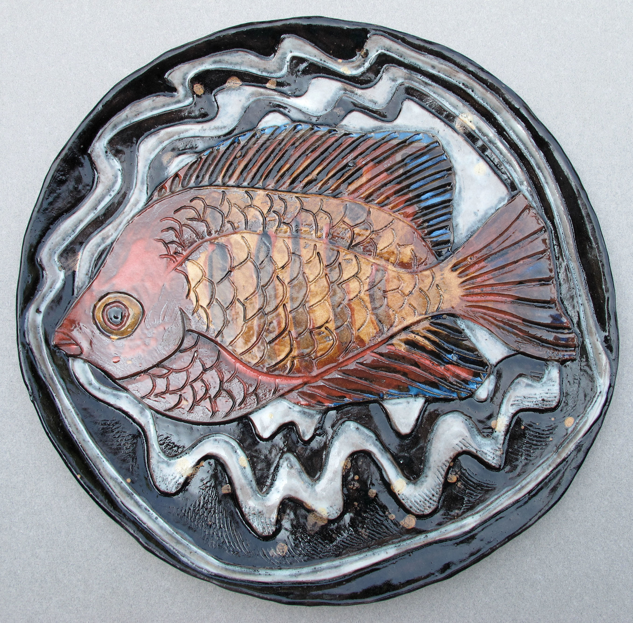 SCALY FISH PLATE