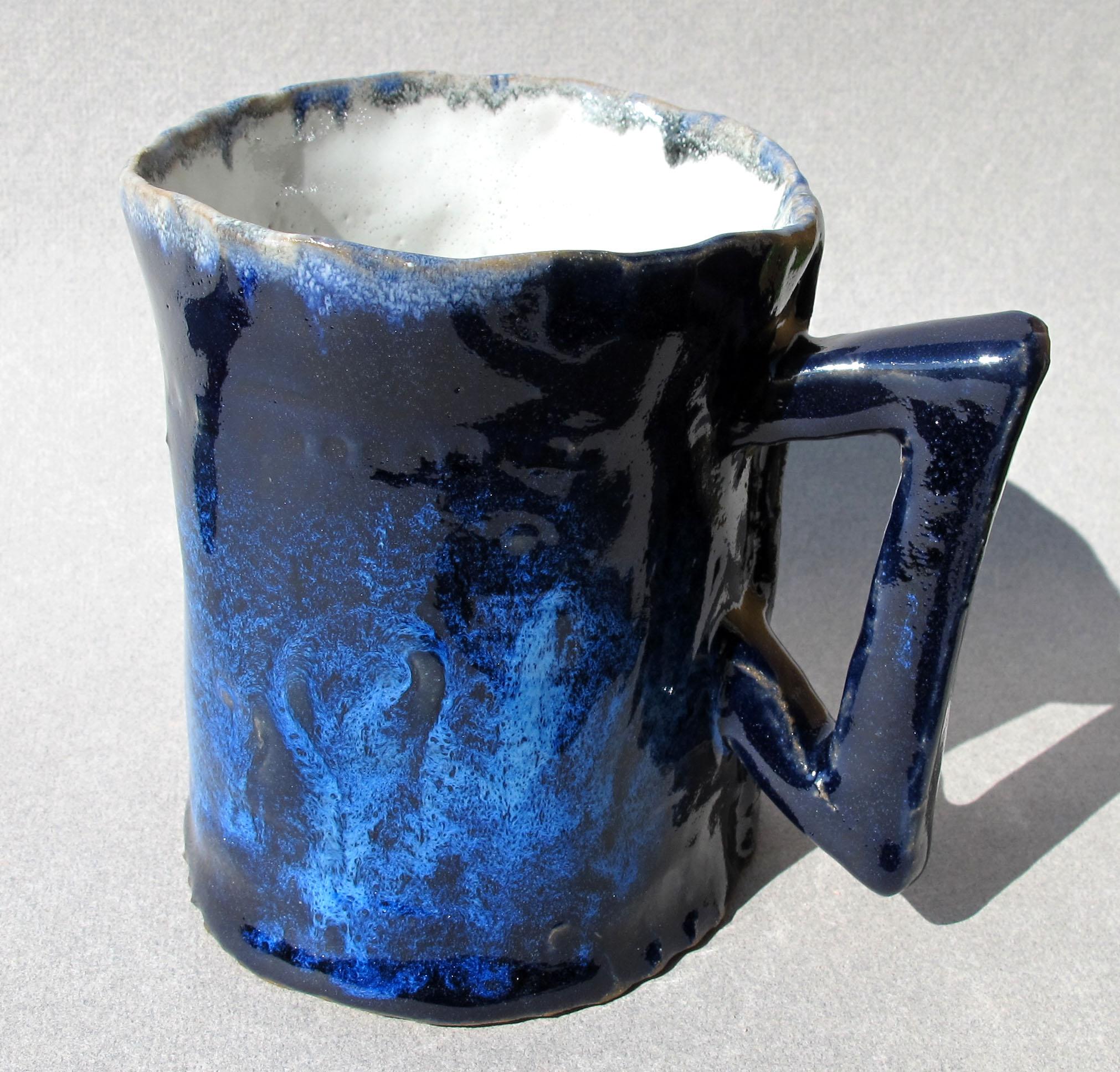 BLUE MUG 8