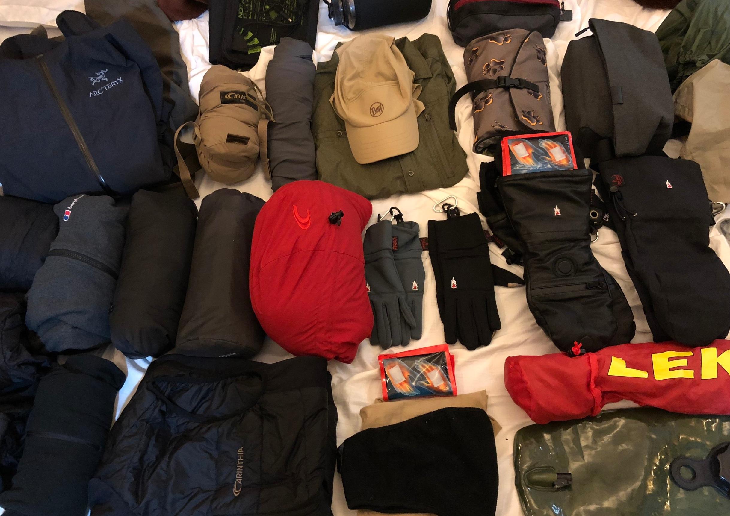 kilimanjaro daunen jacke schwarz