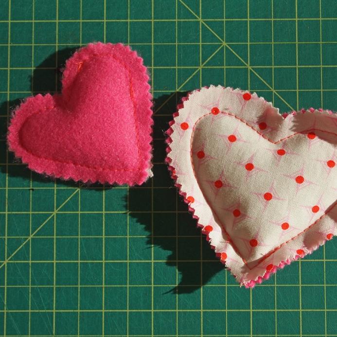 Heart Shaped Hand Warmer DIY