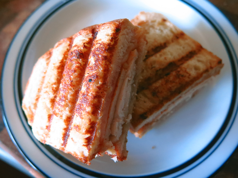 grilled cheese sweet and spicy