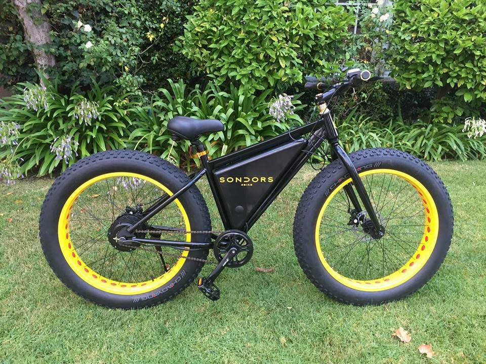 Photo of J.R.'s bike assembled and ready to go!