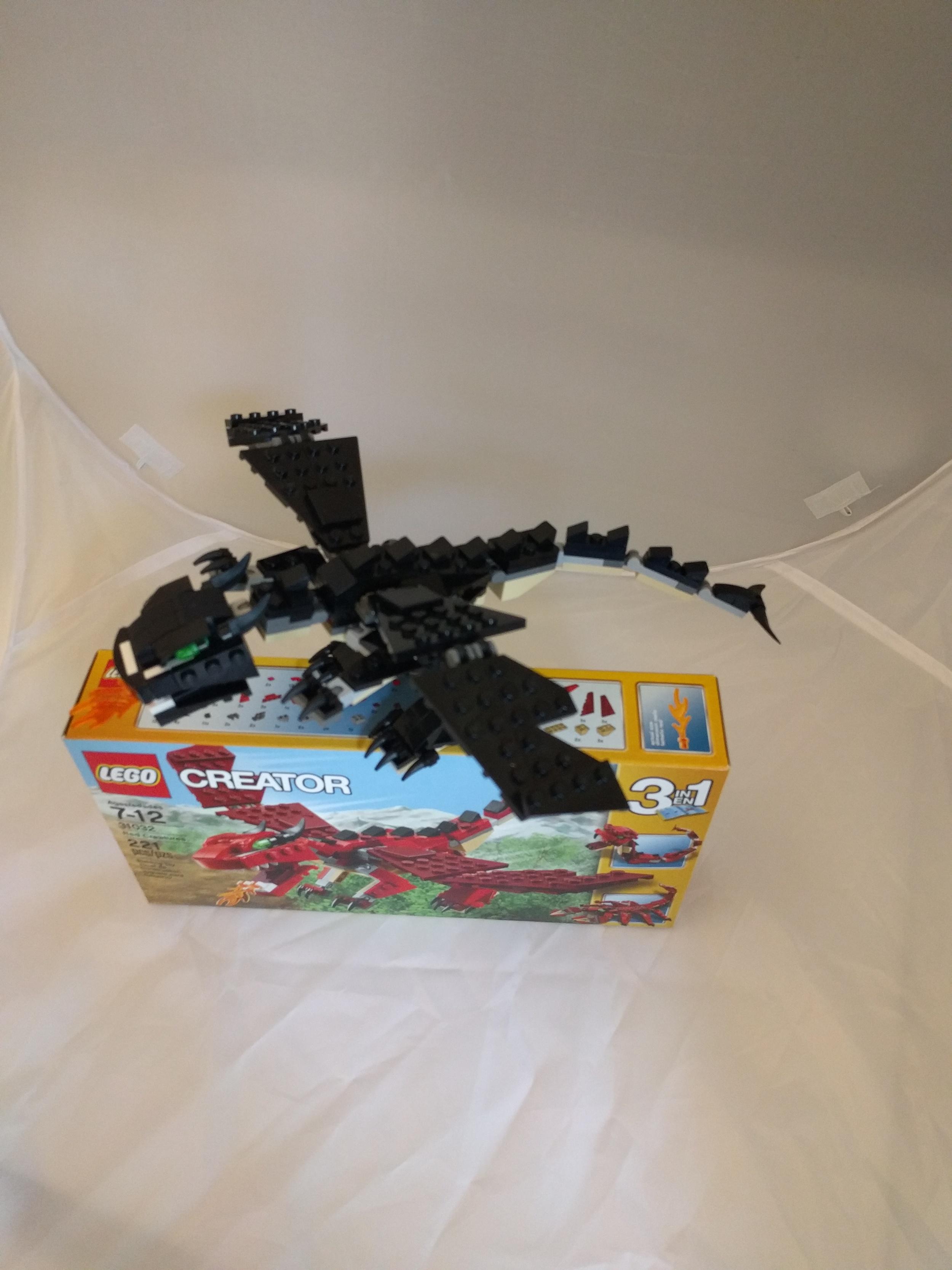 LEGO 31032 black MOC 2