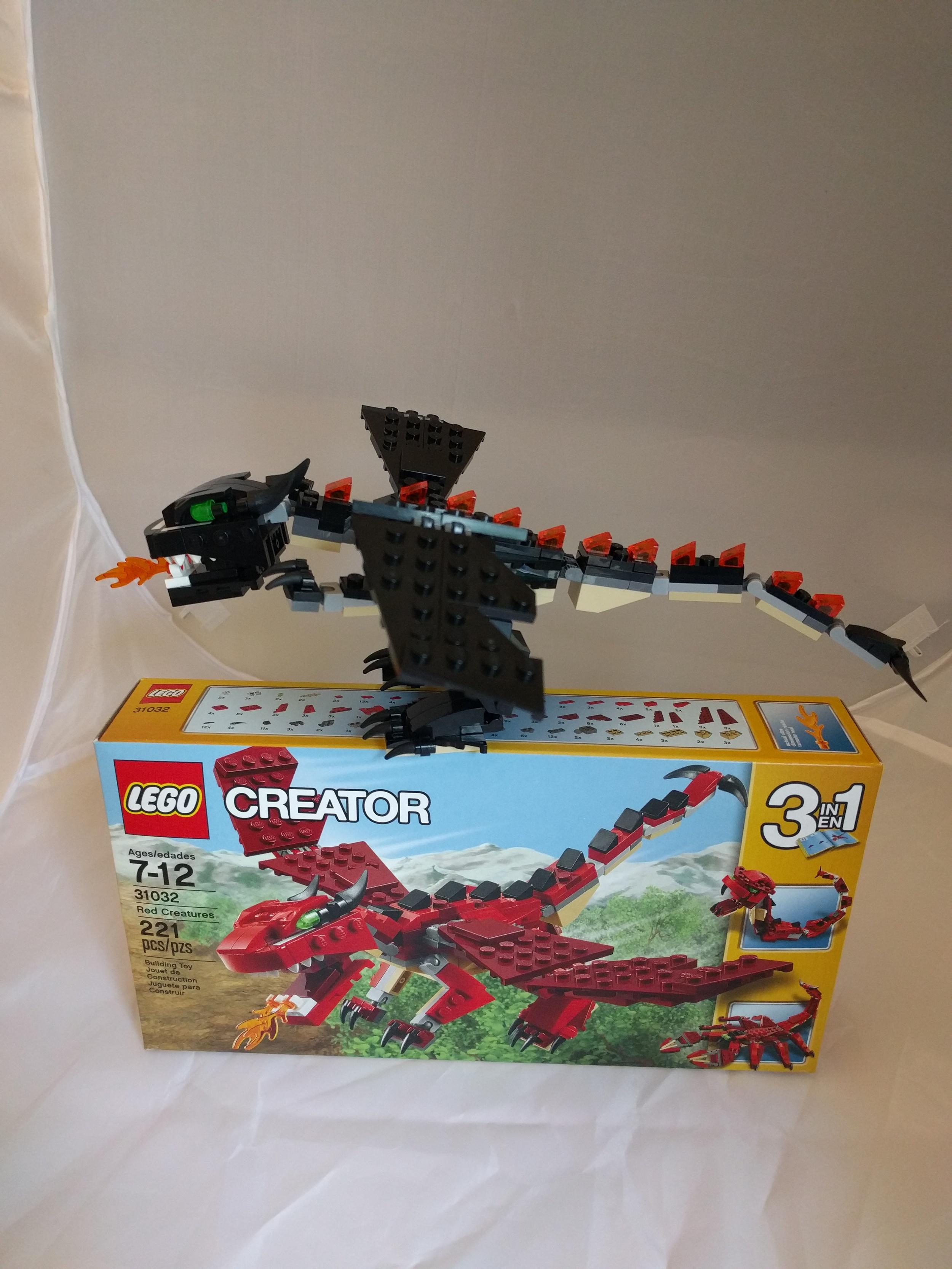 LEGO 31032 black MOC 3