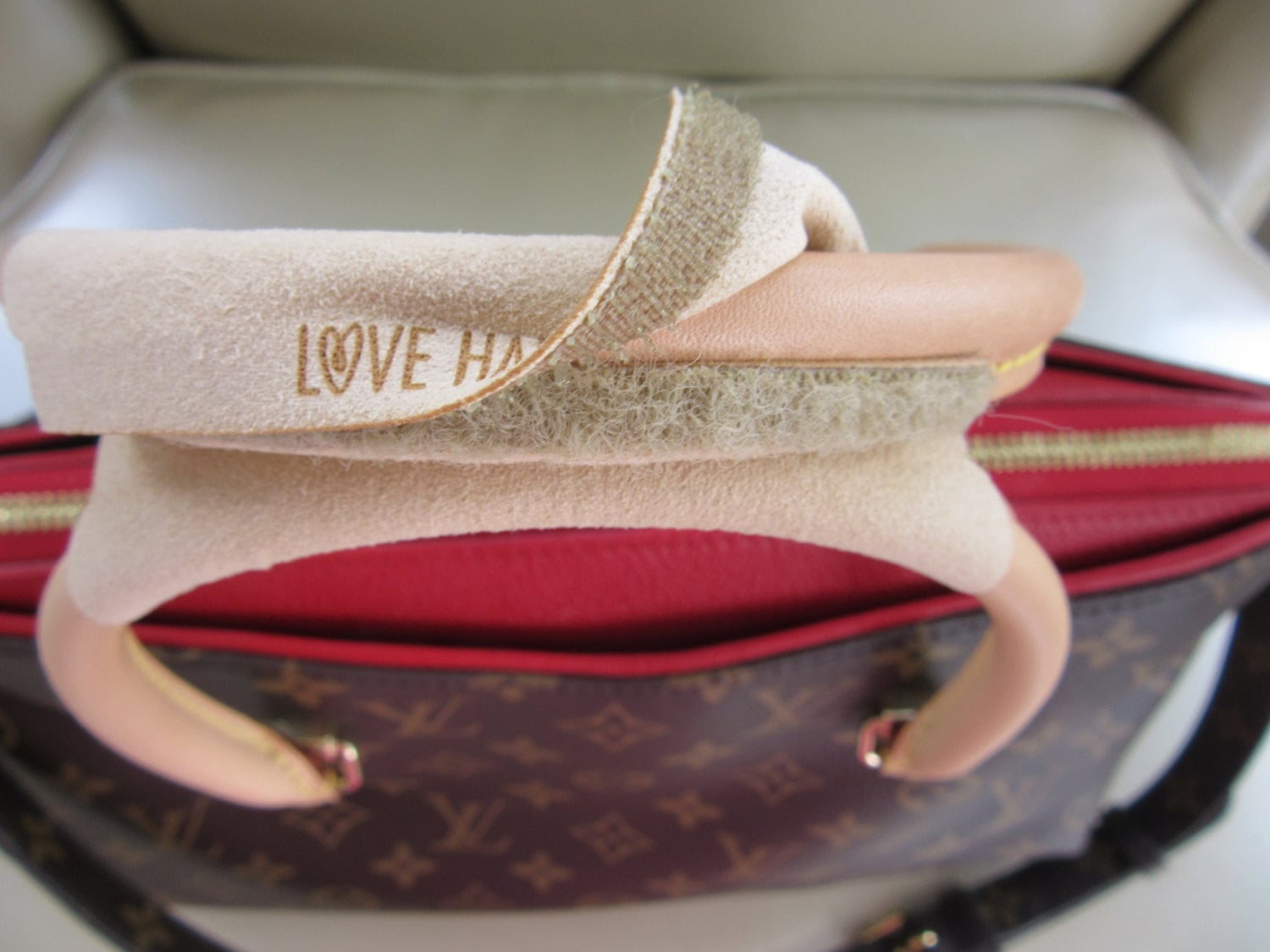 No Sacrifice Bags® Love Handles® in Cameo ( Perfect for Louis Vuitton Bags)