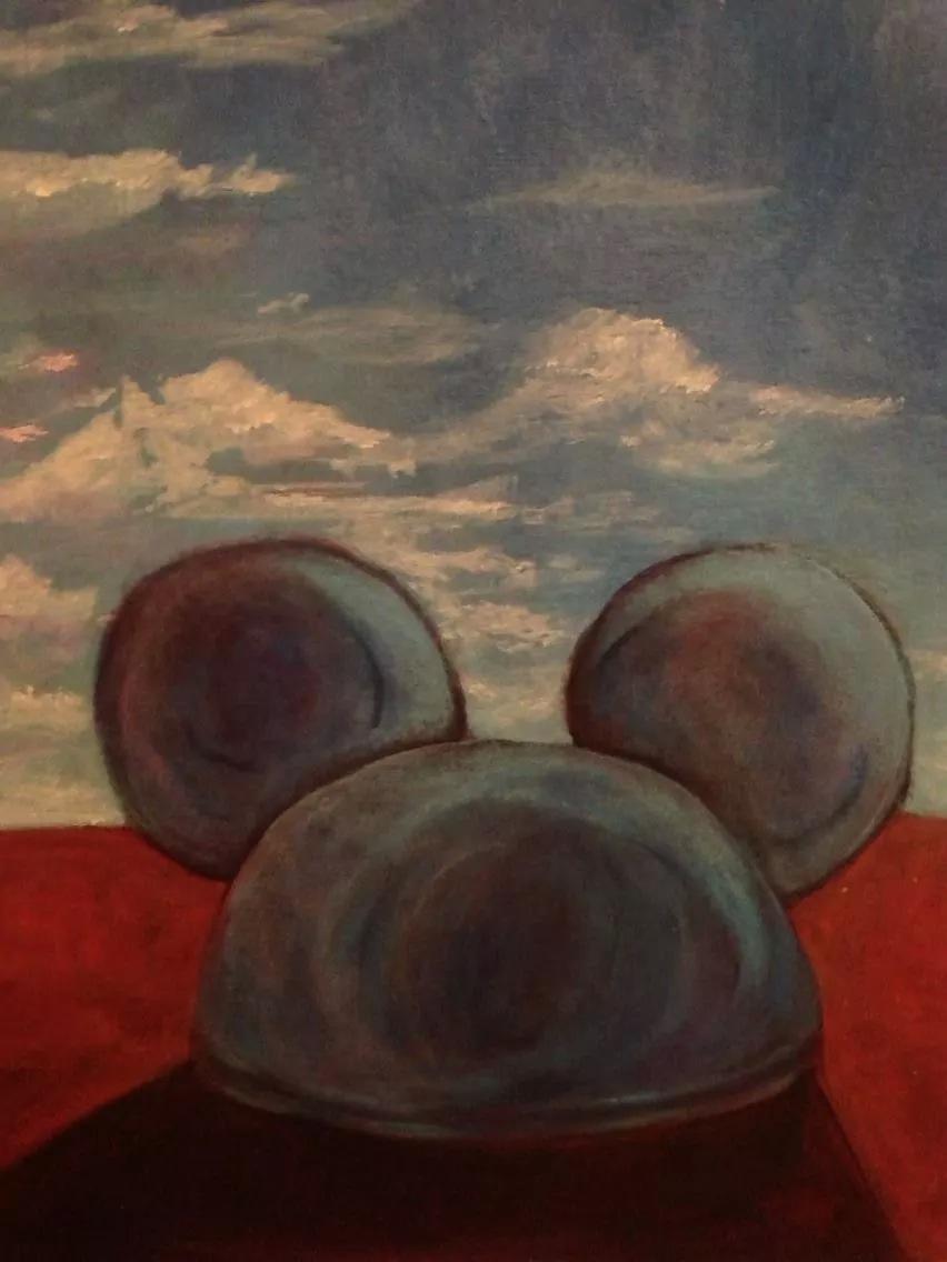 """Mickey Landscape""    (sold)"