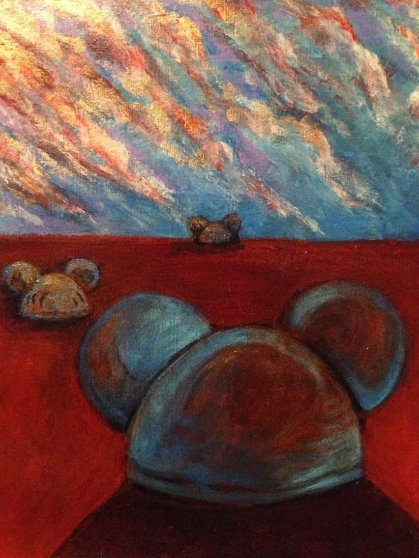 """Mickey Dawn""    (sold)"