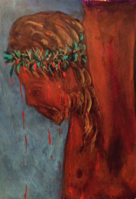 """Jesus on the Cross""    (sold)"