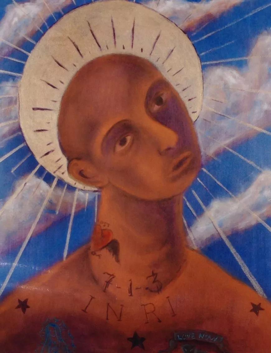 """Gulfton Jesus""    (sold)"