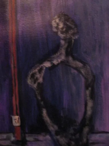 """""""'Hollow Man""""    (sold)"""