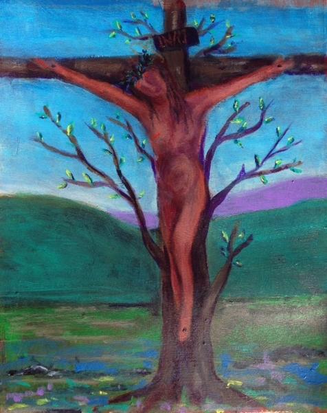 """Crucifixion of Jesus""   (sold)"
