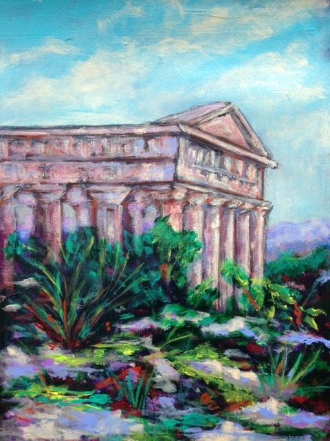 """Segesta Temple, Sicily""   (sold)"