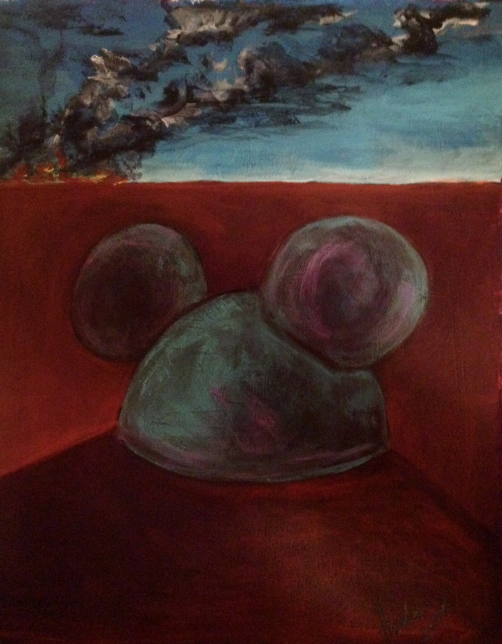 """""""Mickey After the Fire""""   (sold)"""
