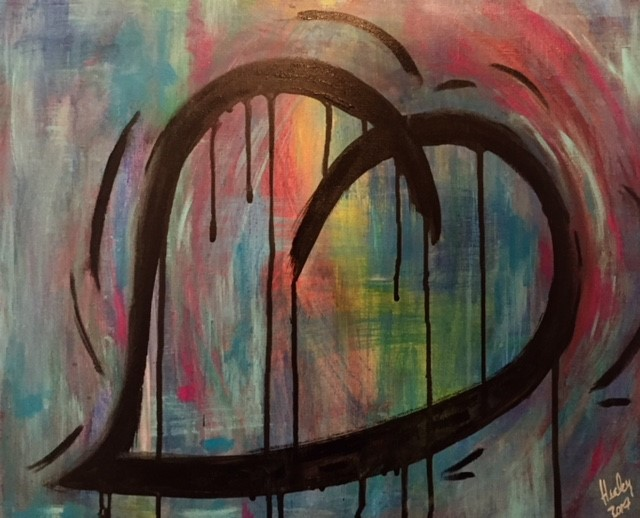 Abstract Heart #2