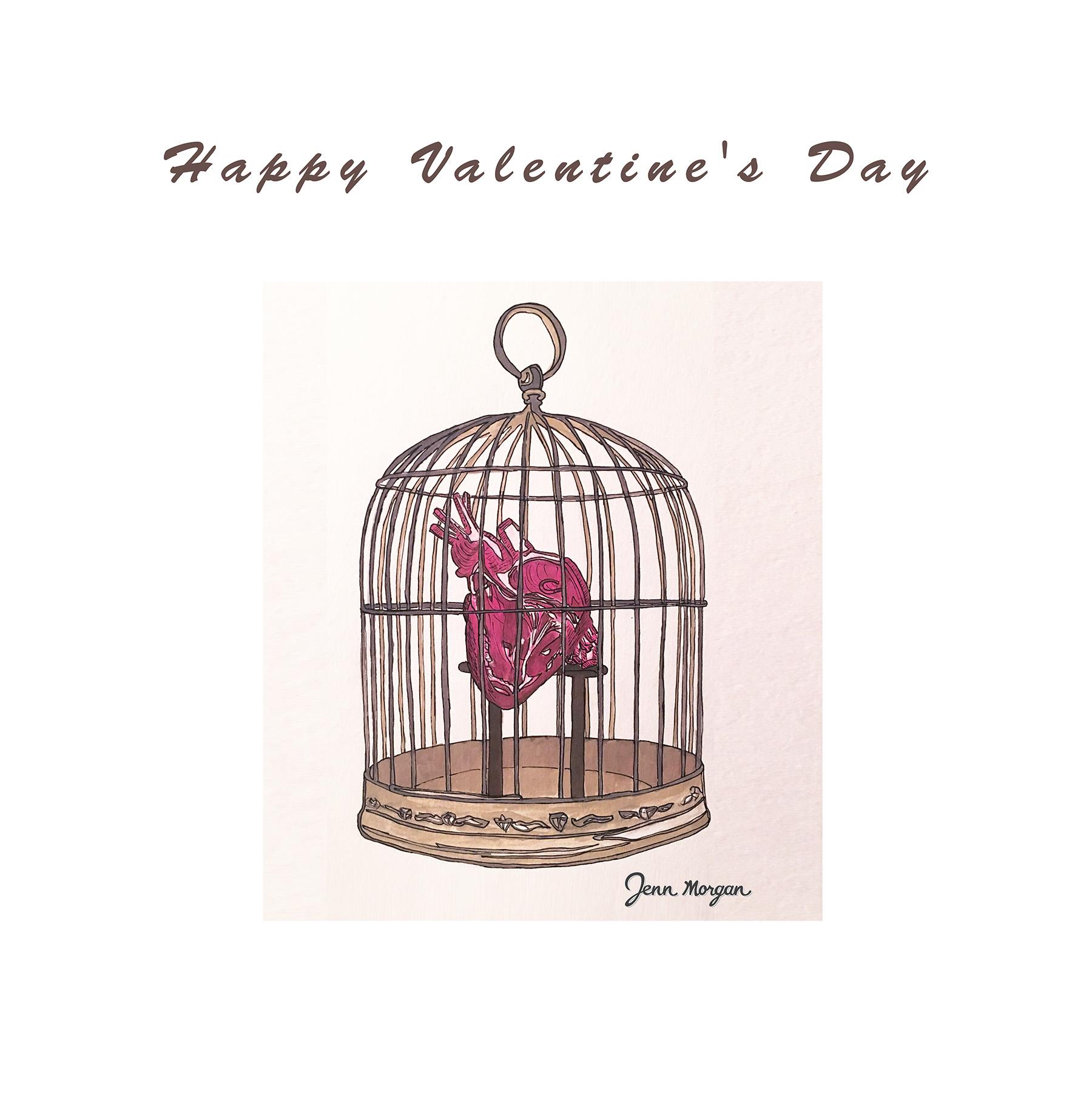 Caged Heart by Jenn Morgan