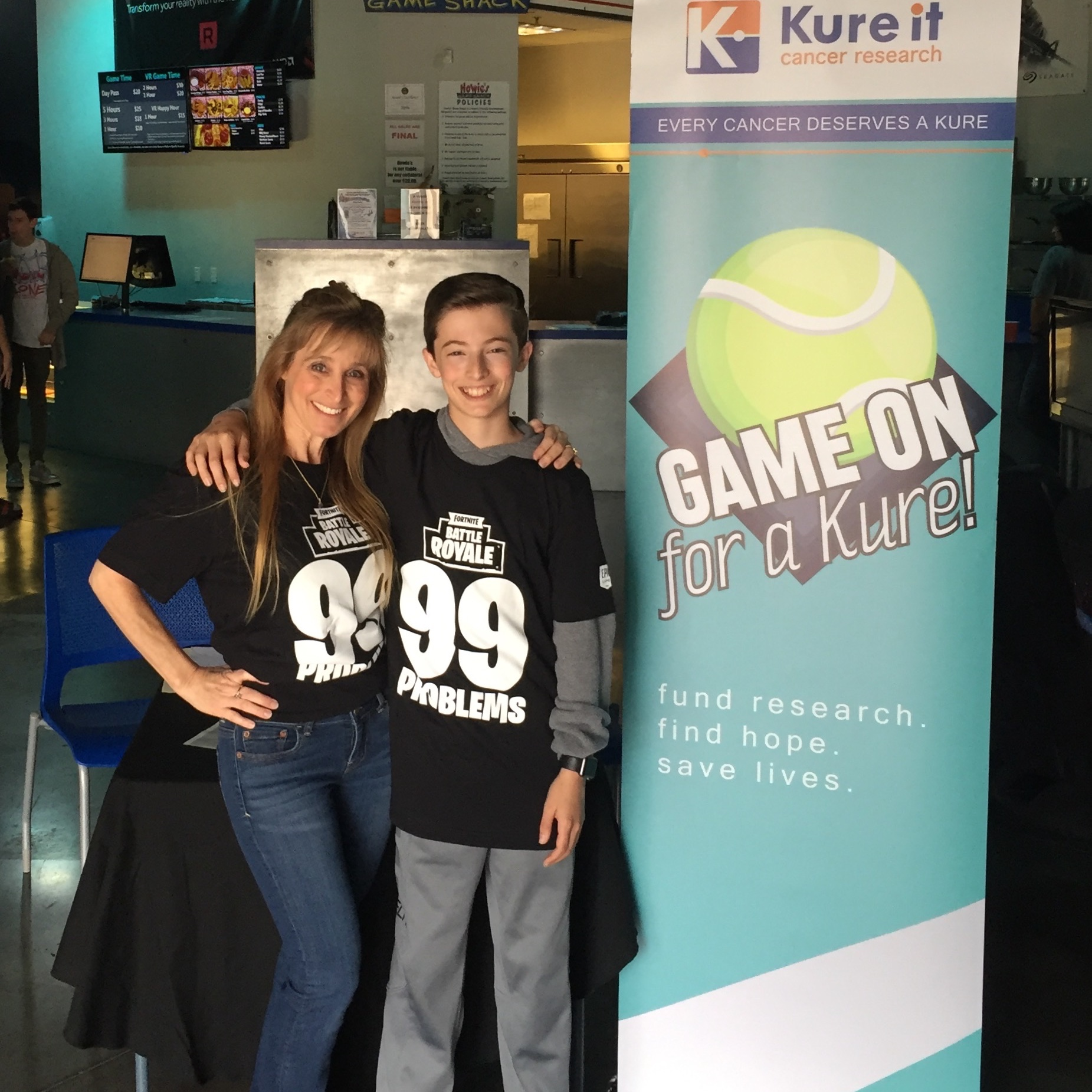 Ryan's Bloch's first gaming tournament raised over $24,000 for cancer research in honor of his grandmother Aileen Sherman