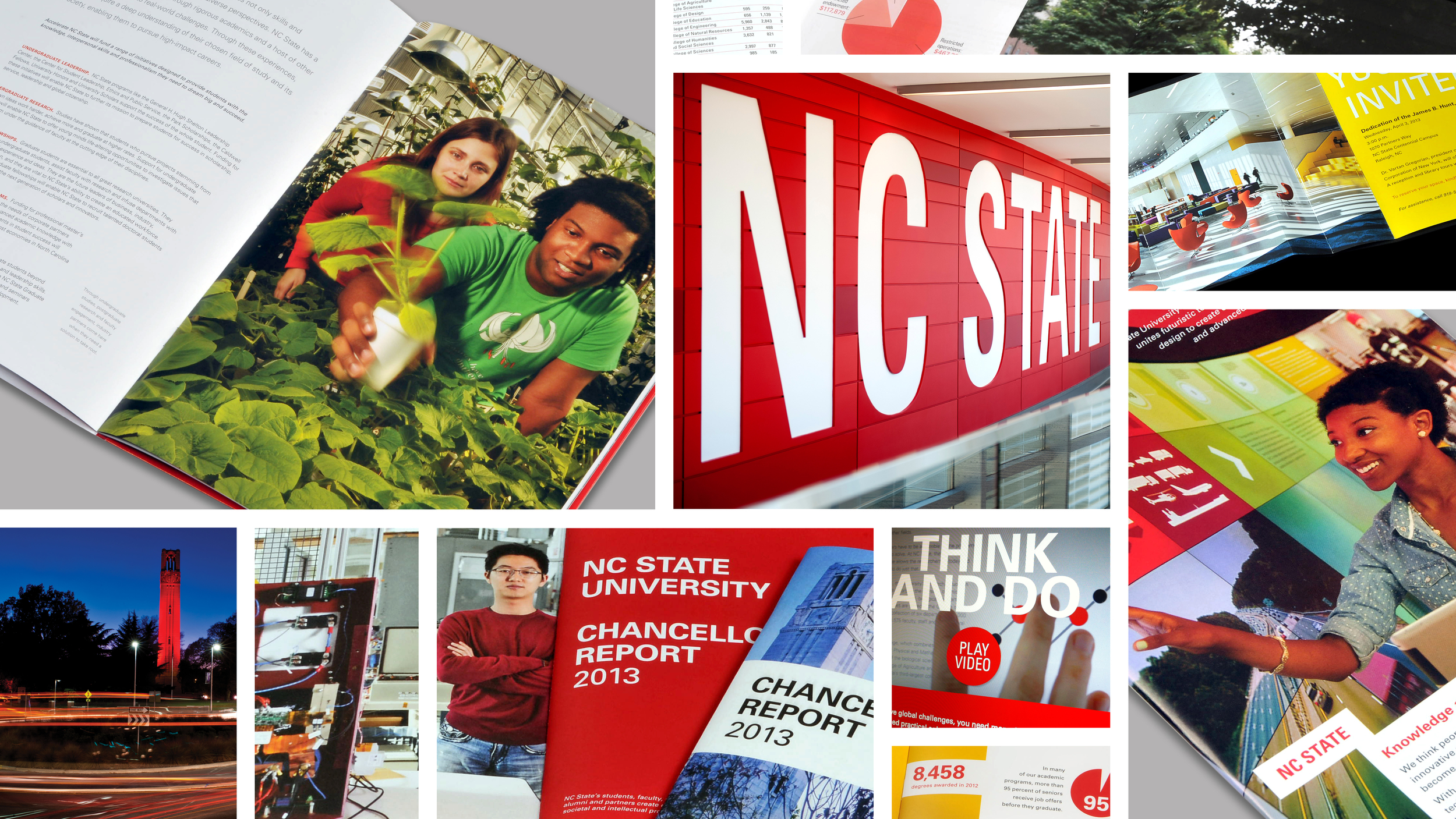 NC State's brand, is built on consistency and flexibility. Its structure creates a strategic family of brands that support and advance one another and elevate the core brand. It allows each NC State unit to maintain a leadership position within its separate competitive marketplace.