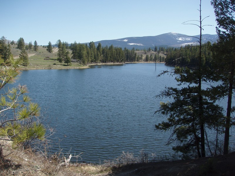 18. Fancher Dam holds over 500 acre feet of our storage for the irrigation of the our irrigated lands below.jpg