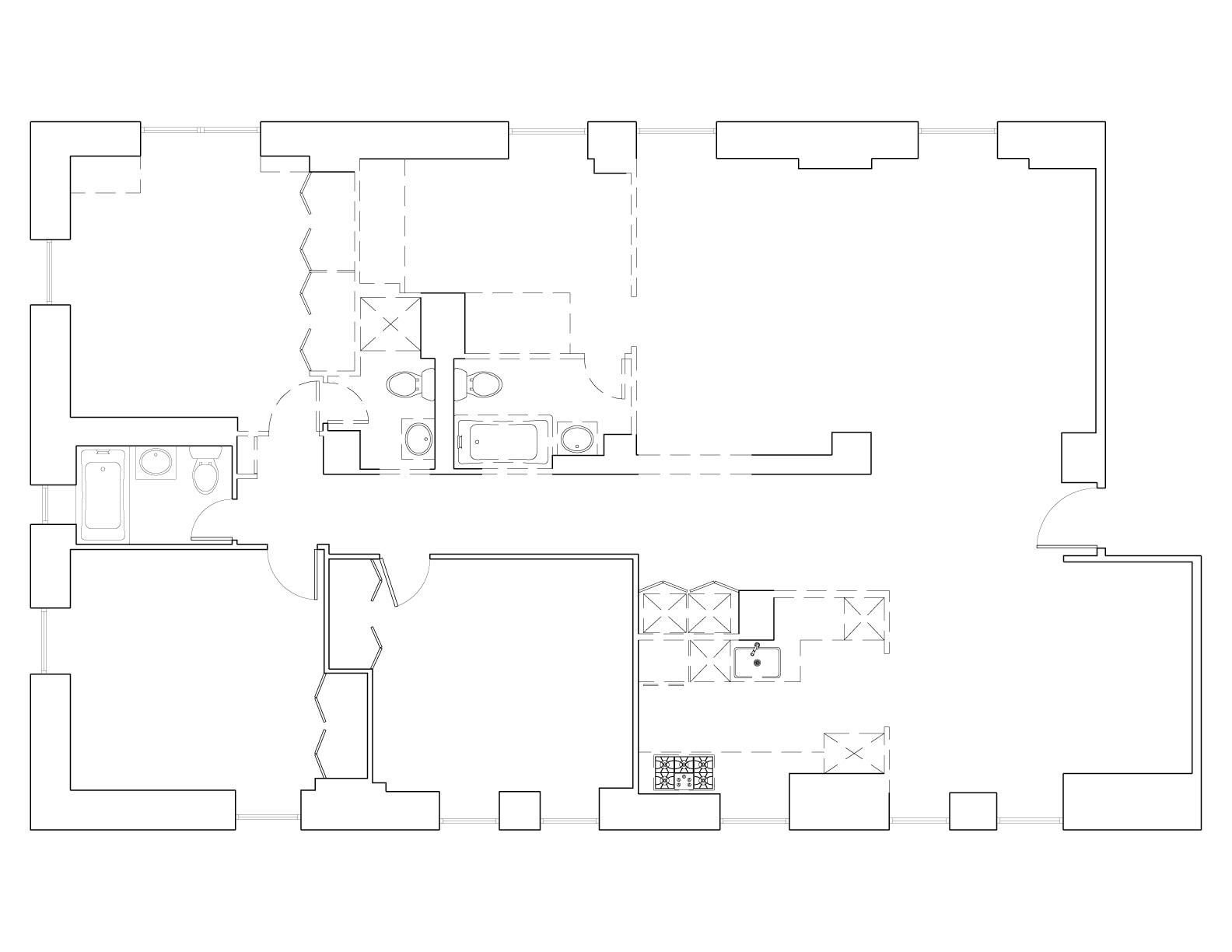 Floor Plan -- Before