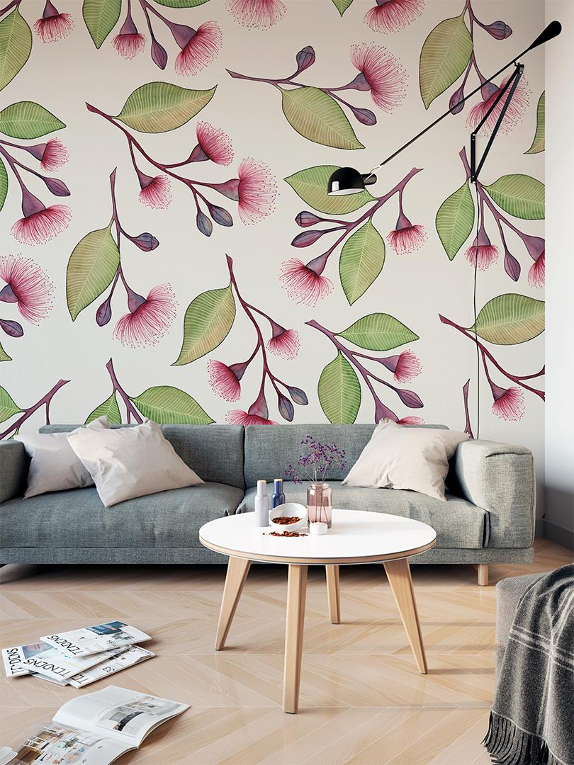 Flowering Gum Mural