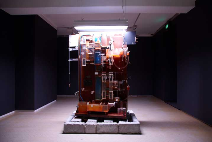 Michael Stevenson , The fountain of prosperity, 2011. Image courtesy the artist and Vilma Gold © the artist
