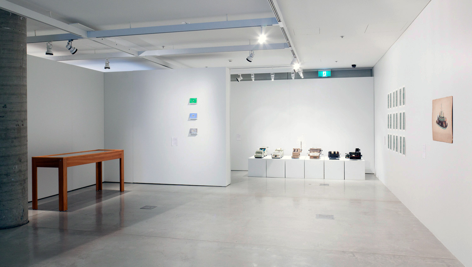 Creative Accounting  installation view. UTS Gallery, Photo: Silversalt