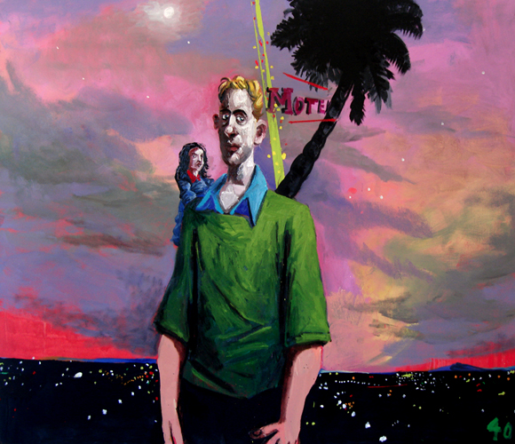 McLean Edwards,  LA Story #2 , 2012. Oil on canvas