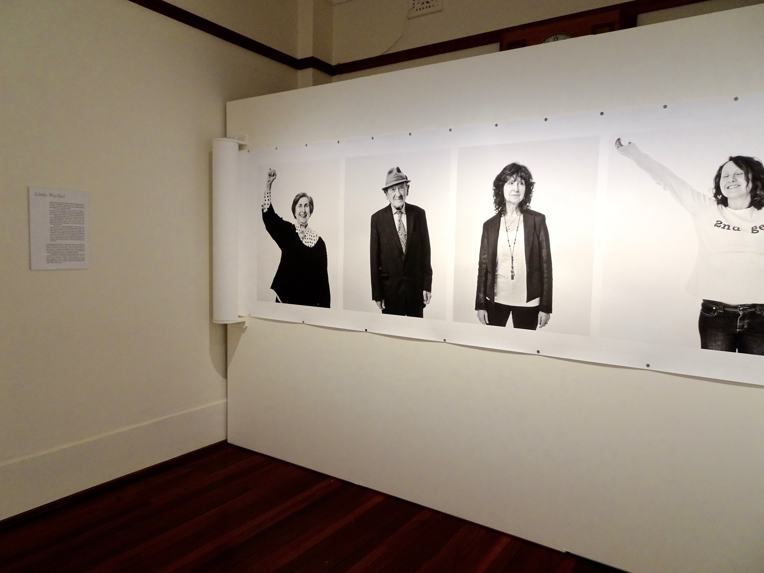 Linda Wachtel - installation view