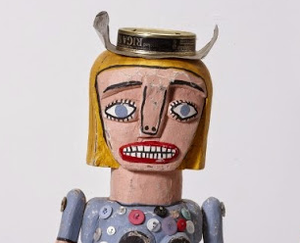 Frank Gohier,   Cowgirl and Ringer  (detail)  2004.  Artbank collection, purchased 2005. Image courtesy and © the artist