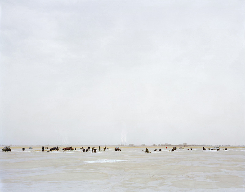 Winter Fishing, Inner Mongolia, 2010