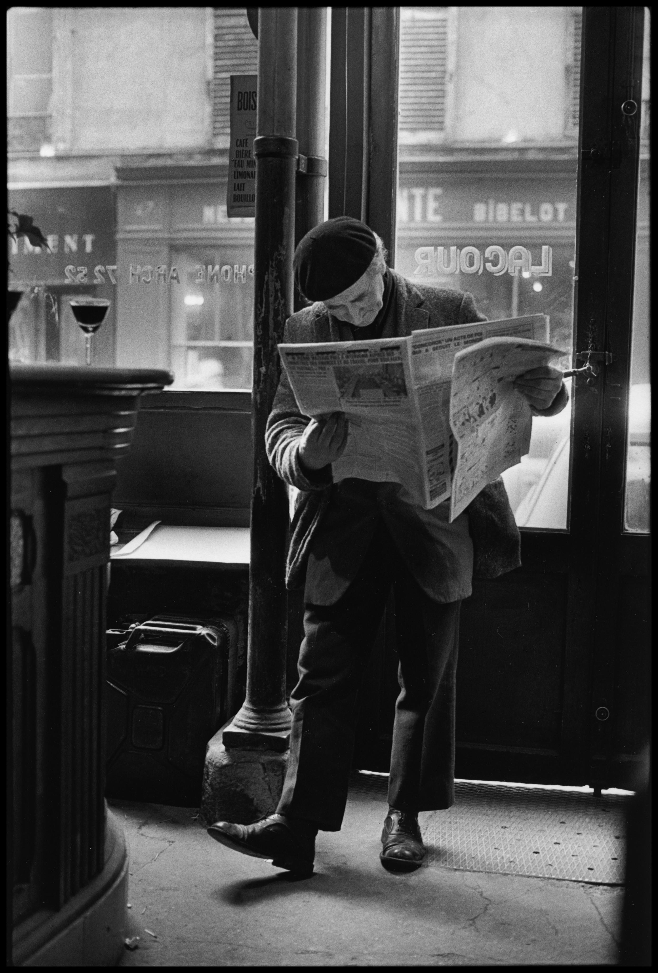 Cafe Lacour, Rue Saint Paul  1976