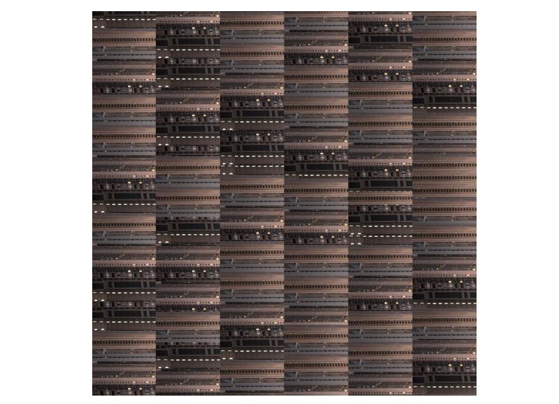 Hong Kong Matrix 56, 2015                                                   Face Mounted                                                                80 x 80 cm / 110 x 110 cm / 150 x 150 cm