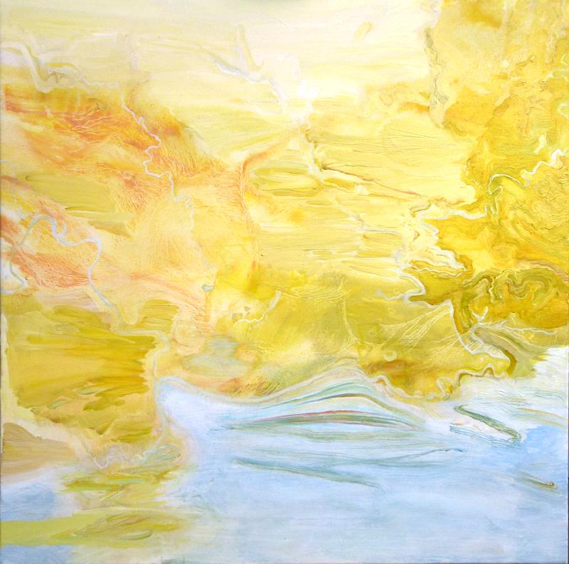 """Morphology"",  2016. oil on canvas, 92 cm H x 92 cm W"