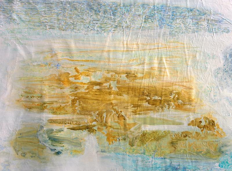 "Detail from  ""Unforeseen territories"" , 2016"
