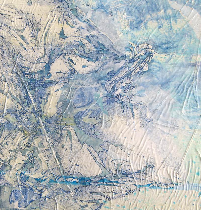 "Detail from ""Unforeseen territories"", 2016"
