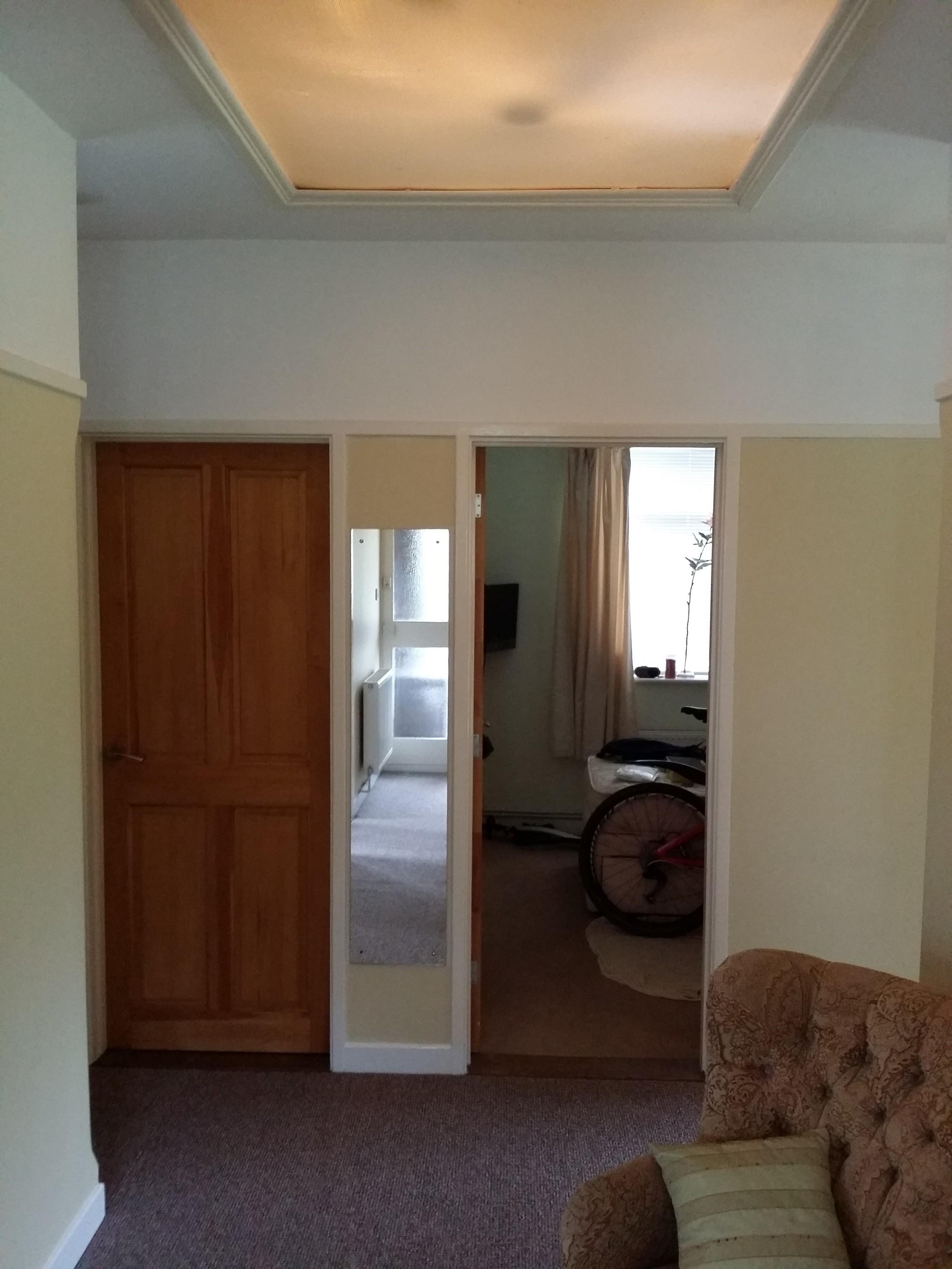 Pre Conversion - Hall / Bedrooms